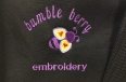 Bumble Berry Embroidery